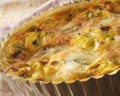 Quiche sans pâte aux oignons et endives (facile, rapide) - Une recette CuisineAZ