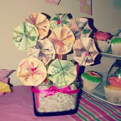 #hazlotumismo #DIY #flowers #gift #idea #money #cash