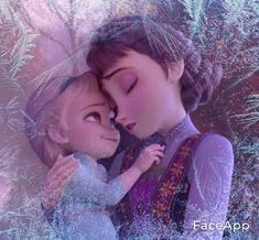 Elsa Frozen, Frozen Queen, Queen Elsa, Disney Frozen, Disney Art, Disney Pixar, Up Imagenes, Brown Hair Cartoon, Anna Y Elsa