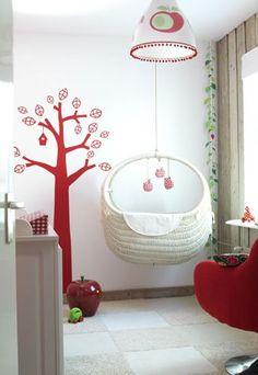 Berços redondos - 15 idéias para decorar