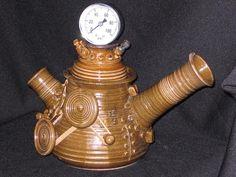 Steampunk teapot  by Peri Charlifu, via Flickr