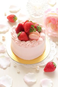 Fancy Desserts, Sweet Desserts, Delicious Desserts, Pretty Cakes, Cute Cakes, Mini Cakes, Cupcake Cakes, Wedding Sweets, Dessert Decoration