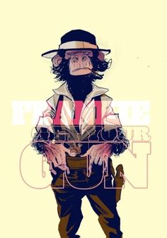 FGYG issue 2 cover by on DeviantArt Monkey Illustration, Character Illustration, Graphic Illustration, Monkey Art, Monkey King, Year Of The Monkey, Graffiti, Mundo Animal, Dope Art