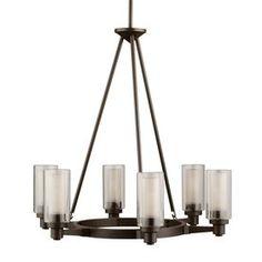 Kichler Lighting Circolo 6-Light Olde Bronze Chandelier