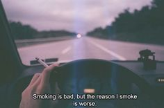 #smoking #love issues