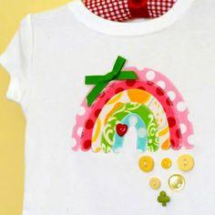 DIY Rainbow T-Shirt