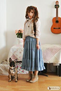 Mori Girl Spring Outfit