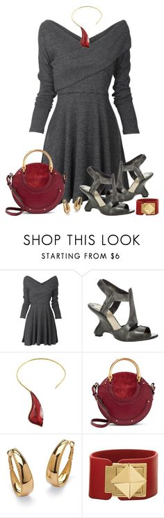 """Thoroughly Modern"" by asigworth ❤ liked on Polyvore featuring Max Studio, Chloé, Palm Beach Jewelry, Mud Pie and modern"