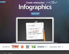 Infogr.am – Create Interactive Infographics http://infogr.am/beta/