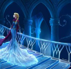 character swap~Anna as Elsa