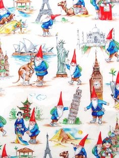 Gnomesome Traveler fabric...from making it fun...