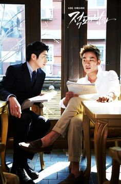 'Equator Man' releases still cuts of Uhm Tae Woong and Lee Jun Hyuk #allkpop