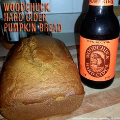 There's only one way to make pumpkin bread more delicious, and that is to make it using Woodchuck Hard Cider Private Reserve Pumpkin! Check out the recipe!