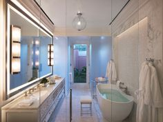 BEVERLY HILLS HOTEL PRESIDENTIAL BUNGALOWS | Sean O'Connor Lighting