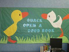 quack open a good book