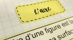 Leçon à manipuler sur les aires – Tablettes & Pirouettes 12th Maths, Cycle 3, Justine, Children