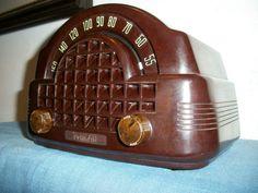 Near Mint Cute Deco Midget Belmont Bakelite Am Radio 4B115 Working Battery Set   eBay