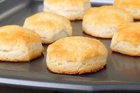 Long-fermente sourdough biscuits