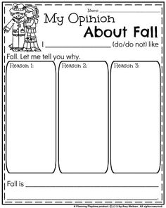 Fall Writing Prompts - Planning Playtime