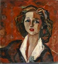 Portrait of a Woman by Emil Kelemen