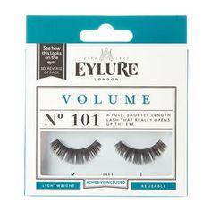 28a989f1253 Eylure Volume No. 101 False Lashes, Volume Lashes, Falsies, Eyelash Brands,