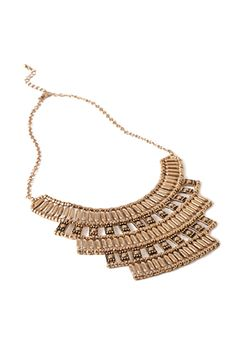 Tiered Tribal-Inspired Necklace | FOREVER21 - 1002247185