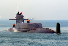 Chinese Type 094 Jin Class Nuclear-Powered Ballistic Missile ...