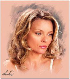 Michelle Pfeiffer by shahin