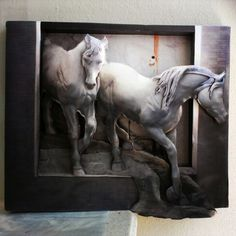 Rölyef,Relief,Handmade,El Yapımı,El İşi,3d,Atlar