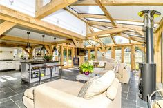 5 bedroom detached house for sale in Row Lane, Albury, Guildford, Surrey - Rightmove. South East England, International Real Estate, House Extensions, Surrey, Detached House, Property For Sale, Luxury Homes, The Row, Home And Family