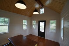 This is a tiny house and small cottage combo by Kanga Room Systems in Texas. The main cottage is and the tiny house is Small Cottage House Plans, Small Cottage Homes, Small House Floor Plans, Small Cottages, Cottage Plan, Tiny House Cabin, Country House Plans, Tiny House Living, New House Plans