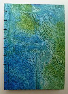 sew sew art: Paste Paper
