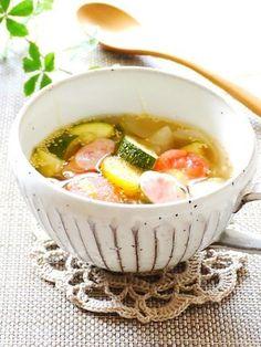 【一杯で満腹〜♪】旬の「ズッキーニ」が旨い!具沢山スープ5選