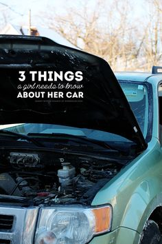 Sunny with a Chance of Sprinkles: 3 Things A Girl Needs To Know About Her Car #ShopDropAndOil #ad