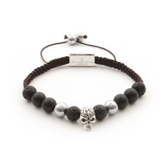 Description Healing Power More The great Skull Pure bracelet is combined with the rock look of the skulls. A tastefully stylish mix for every fashion-aware wris Cool Items, Skull, Beaded Bracelets, Pure Products, Stone, Stylish, Collection, Porn, Jewelry
