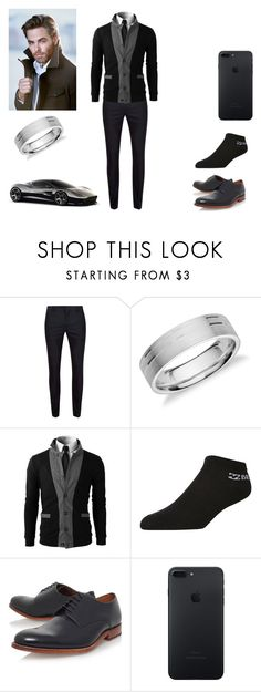 """Neil McCormick"" by jaylynjanet ❤ liked on Polyvore featuring Topman, Blue Nile, Billabong, Grenson, Aston Martin, men's fashion and menswear"