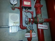 fire sprinkler valve with alarm installation and repair