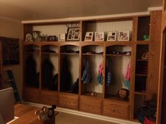 Love This : Custom Cubby Cabinets