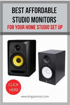 Studio monitors are essential to hear the total sound spectrum. You can pay a fortune but, if you are starting out on setting up your home studio, then these affordable monitors will not consume your entire home studio equipment budget. #homerecordingstudio #studiomonitors Home Studio Equipment, Home Studio Setup, Home Studio Music, Signal Processing, Sound Proofing, Recording Studio, On Set, Spectrum, Monitor