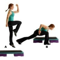 20-Minute Fat-Burning Workout Burn fat: Increase your metabolism with part two in the Womens Health 20-minute workout series. This is the Power Knee Tap 'n' Touch Exercise.