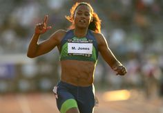 AT&T USA Outdoor Track and Field Championships - Day Two, Marion Jones