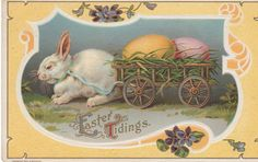 Vintage Easter Cards | Happy Easter! This is a vintage postcard from my collection. Dated ...