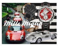 """Mille Miglia"" by etiquetteitaly on Polyvore featuring Liora Manné, Jean-Paul Gaultier, Chopard, Dents, mens, men, men's wear, mens wear, male e mens clothing"