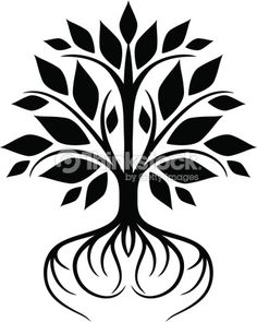 Tree With Roots Ii Vector Art | Thinkstock