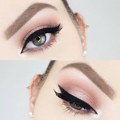 Simple Glitter Rose Gold Makeup | Rose Gold Makeup Tutorial Perfect For Any Season
