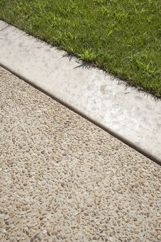 Exposed Aggregate Concrete, Concrete Driveways, Concrete Patio, Driveway Design, Driveway Landscaping, Landscape Elements, Garden Landscape Design, Garden Paving, Garden Paths