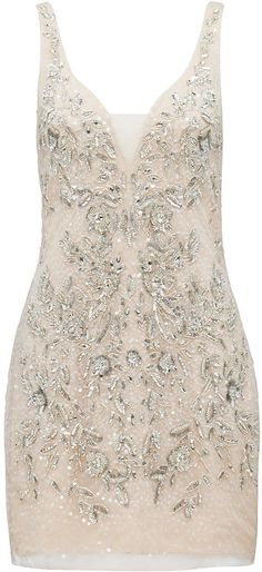 Isabella v-neck embellished dress