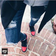 """#POVoutfit shot by @mchcastil     @jumpman23 @nikesportswear #Jordan1 #Bred1 @hm"""