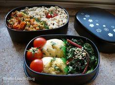Rührei-Kugel, Mangold und Karotten-Zucchini-Pfanne