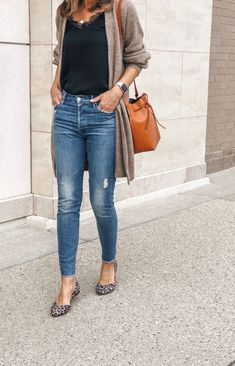 New Womens Fashion Autumn Fall Looks Jeans Ideas Cute Spring Outfits, Fall Winter Outfits, Cute Outfits, Casual Winter, Casual Summer, Spring Outfits Women Over 30, Winter Office Outfit, Casual Office, Stylish Office